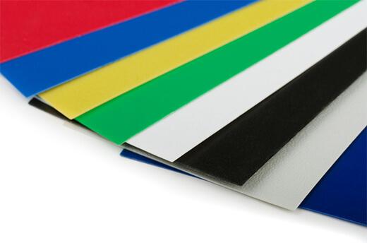 Цветной пластик АБС