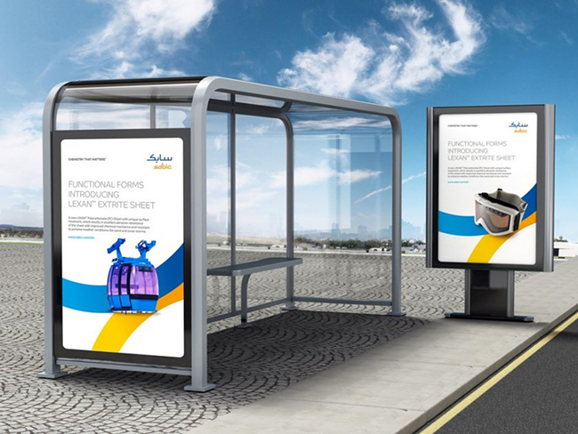 Поликарбонат для прозрачных рекламных конструкций