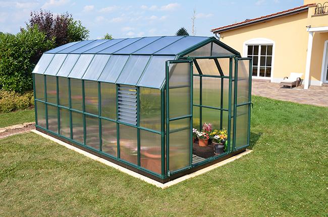 Поликарбонат для садовых теплиц
